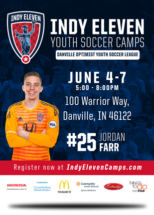 Indy Eleven Summer Camp